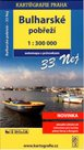 Bulharsko - pobřeží - 33 nej - mapa Kartografie - 1:300 000