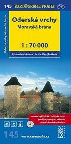 Cyklomapa (145)-Oderské vrchy,Moravská brána