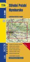 Střední Polabí - Nymbursko - cyklo KP114 - 1:70t