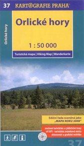 Orlické hory - mapa Kartografie č.37 - 1:50 000