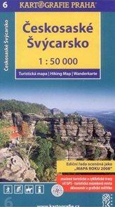 Českosaské Švýcarsko - mapa Kartografie č.6 - 1:50 000