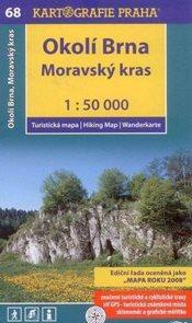 Okolí Brna, Moravský kras - mapa Kartografie č.68 - 1:50 000