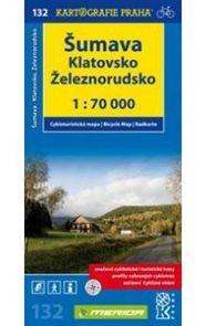 Šumava - Klatovsko, Železnorudsko - cyklo KP132 - 1:70t