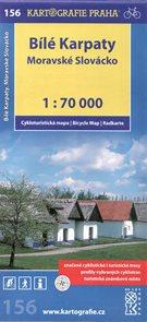 Bílé Karpaty, Moravské Slovácko -  cyklo KP č.156 - 1:70t