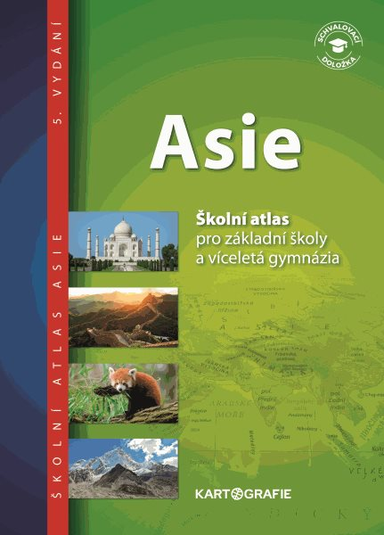 Asie sešitový atlas pro ZŠ a víceletá gymnázia - 3. vydání - A4, brožovaný