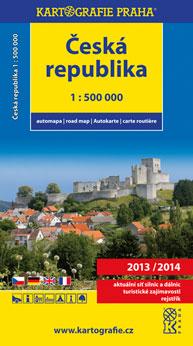 Automapa České republika 1:500 000, 8. vydání 2013/2014 - 6x10