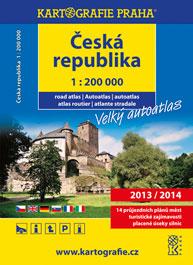 Česká republika velký autoatlas 1:200 000