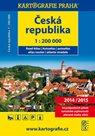 Autoatlas Česká republika 2014/2015 1: 200 tis.