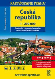 Autoatlas Česká republika 2014/2015 1: 200 tis. - 17x24