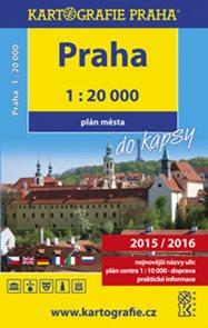 Praha do kapsy atlas města 1 : 20 000