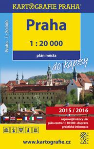 Praha do kapsy atlas města 1 : 20 000 - 10x16