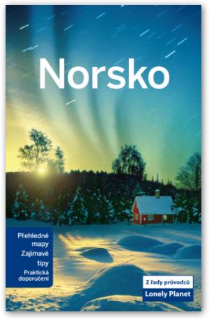 Norsko - průvodce Lonely Planet-Svojtka - A5, brožovaná vazba