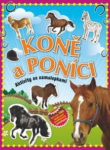 Koně a poníci - Aktivity se samolepkami