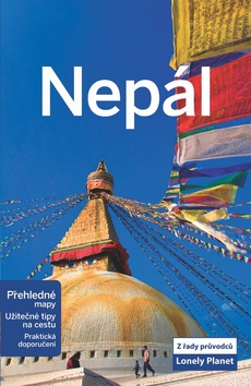 Nepál - průvodce Lonely Planet v češtině - 13x20