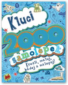 2000 samolepek pro kluky