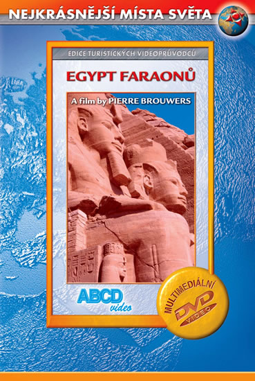 DVD Egypt faraonů - turistický videoprůvodce (50min) - 13x19 cm