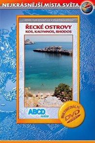 DVD - Řecké ostrovy - Kos, Kalymnos, Rhodos -  turistický videoprůvodce (59 min.)