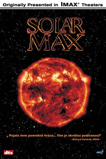 DVD Solar Max - IMAX - 13x19 cm
