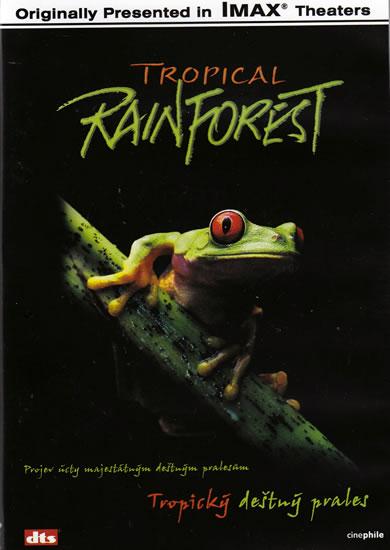 DVD Tropický deštný prales - Imax /52 min/ - 13x19 cm