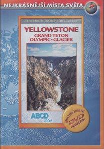 DVD - Yellowstone, NP Grand Teton, NP Olympic, NP Glacier - turistický videoprůvodce (90 min.) /USA/