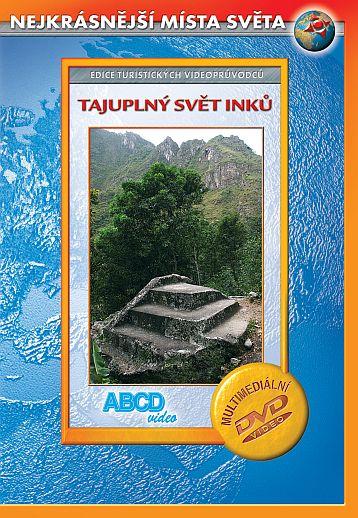 DVD Tajuplný svět Inků - turistický videoprůvodce - 14x19