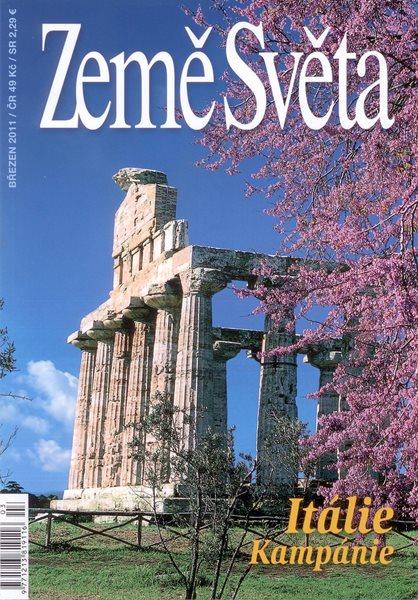 Itálie - Kampánie - časopis Země Světa - vydání 3-2011 - A5