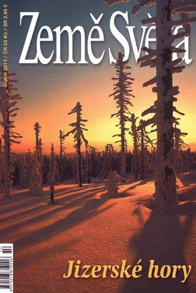 Jizerské hory - časopis Země Světa - vydání 10-2011 - A5, křídový papír