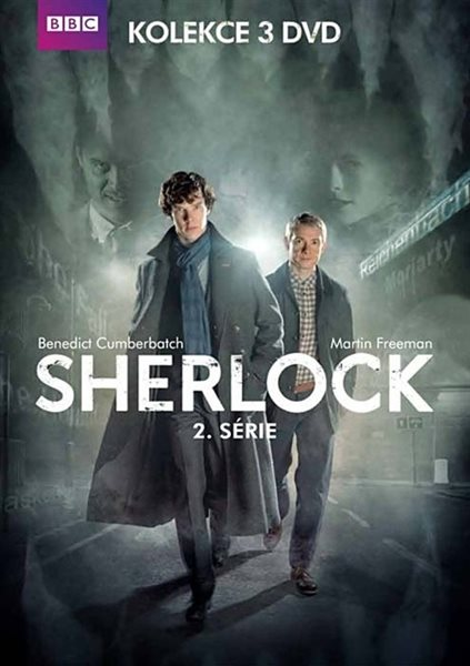 Sherlock: kompletní 2. série 3 DVD - neuveden - 13x19