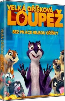 DVD Velká oříšková loupež - neuveden - 13x19