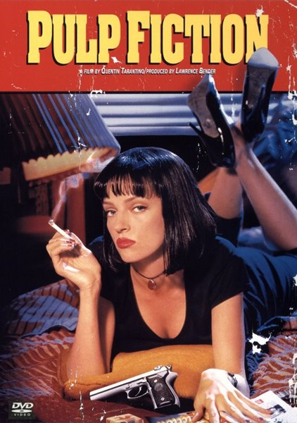 DVD Pulp Fiction - neuveden - 13x19