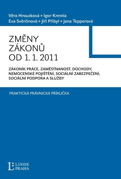 Změny zákonů od 1.1.2011 - A5, brožovaná
