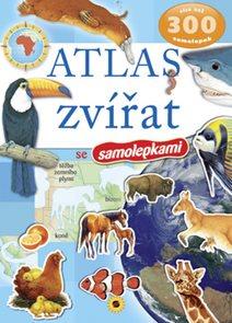 Atlas zvířat - 300 samolepek