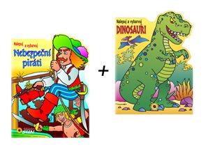 Komplet - Piráti a dinosauři