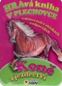 Hravá kniha v plechovce Koně