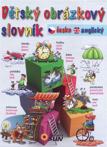 Dětský obrázkový slovník česko-anglický - 14×17