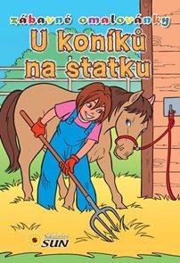 U koníků na statku - Zábavné omalovánky