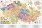 Rámovaná Česká republika administrativní