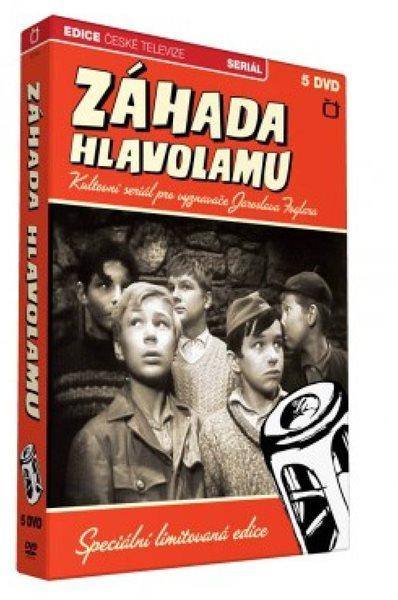 Rychlé šípy Záhada hlavolamu 5 DVD - Foglar Jaroslav