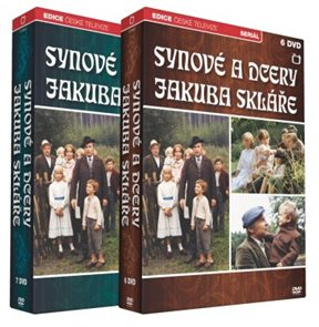 Synové a dcery Jakuba Skláře 13 DVD