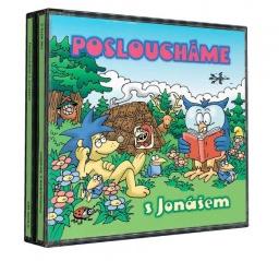 CD Posloucháme s Jonášem, komplet 4 CD