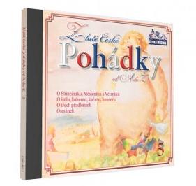 CD Zlaté české pohádky od A do Z 5 - neuveden - 13x14