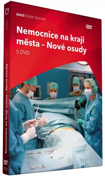 Nemocnice na kraji města, Nové osudy 5DVD - neuveden - 13x19
