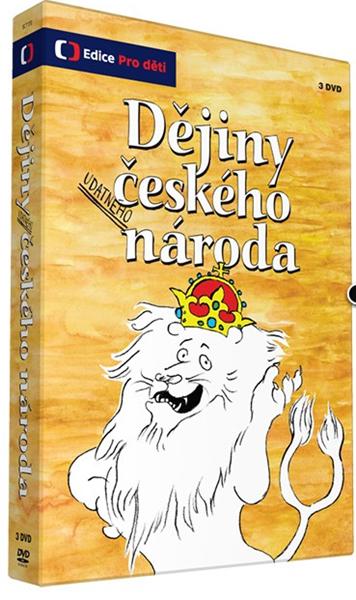 Dějiny udatného českého národa 3 DVD - neuveden - 14x19