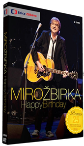 DVD Žbirka Miro - Happy Birthday