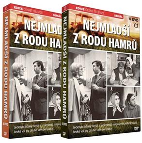 Nejmladší z rodu Hamrů 5 DVD+ 6 DVD
