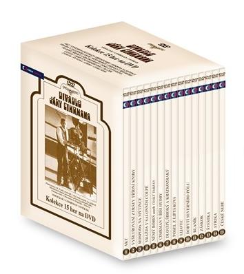 Divadlo Járy Cimrmana kolekce 15 her na DVD - neuveden