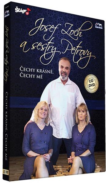 Josef Zoch a sestry Petrovy 1 CD + 1 DVD - Josef Zoch - 13x19