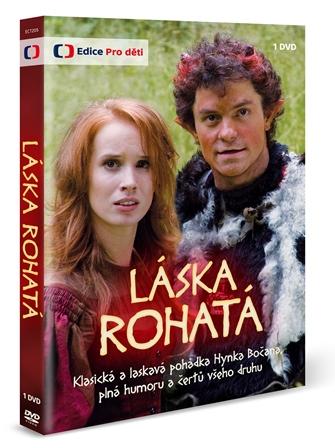 DVD Láska rohatá - neuveden - 13x19