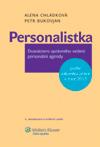 Personalistka, 4. vydání, aktualizované a rozšířené pro rok 2013