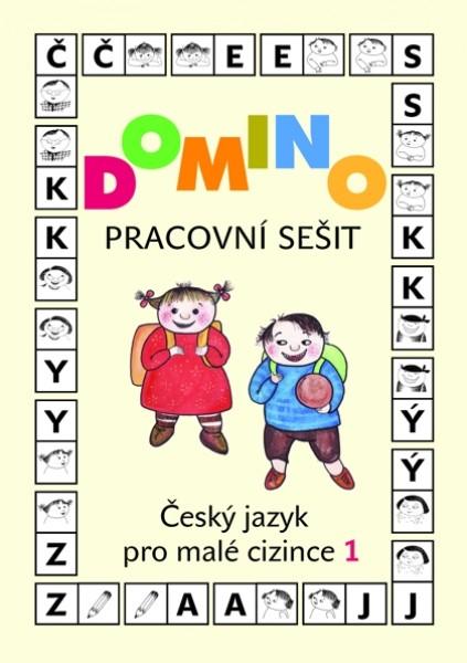 Domino Český jazyk pro malé cizince 1 - pracovní sešit - Škodová Svatava - A4